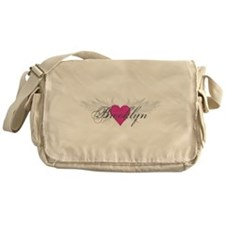 My Sweet Angel Brooklyn Messenger Bag