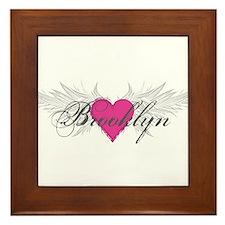 My Sweet Angel Brooklyn Framed Tile
