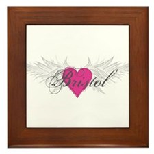 My Sweet Angel Bristol Framed Tile