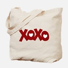 Hugs Kisses Hearts Tote Bag