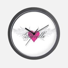 My Sweet Angel Brielle Wall Clock