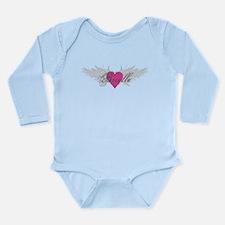 My Sweet Angel Brielle Long Sleeve Infant Bodysuit
