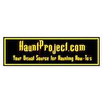 HauntProject Bumper Sticker