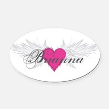 My Sweet Angel Brianna Oval Car Magnet