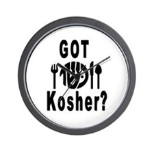 Got Kosher? Wall Clock