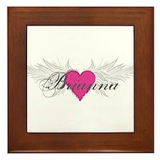 My Sweet Angel Brianna Framed Tile