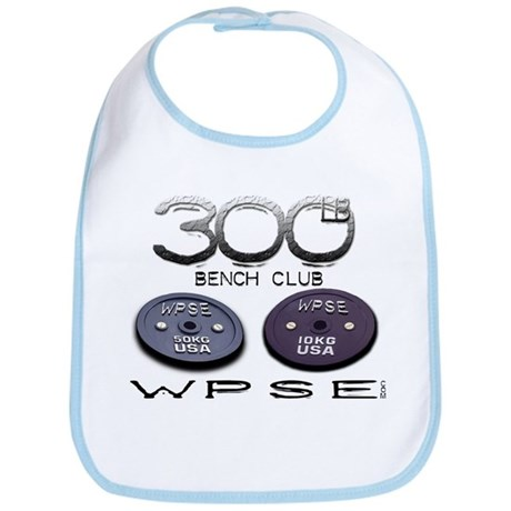 300lb Bench Club Bib