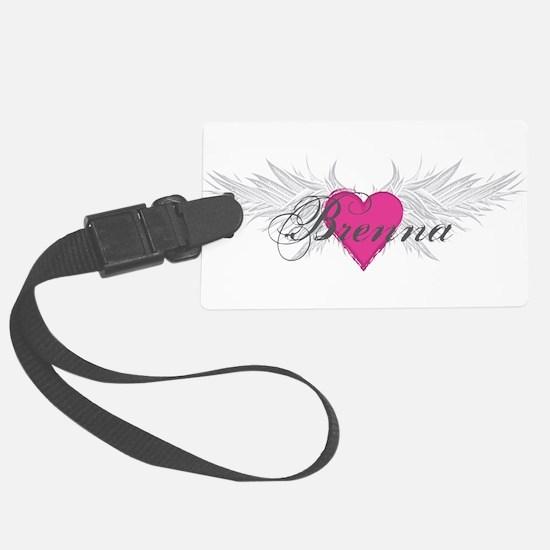 My Sweet Angel Brenna Luggage Tag