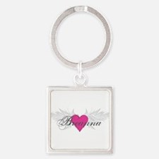 My Sweet Angel Breanna Square Keychain