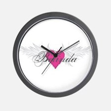 My Sweet Angel Belinda Wall Clock