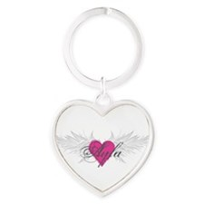 My Sweet Angel Ayla Heart Keychain