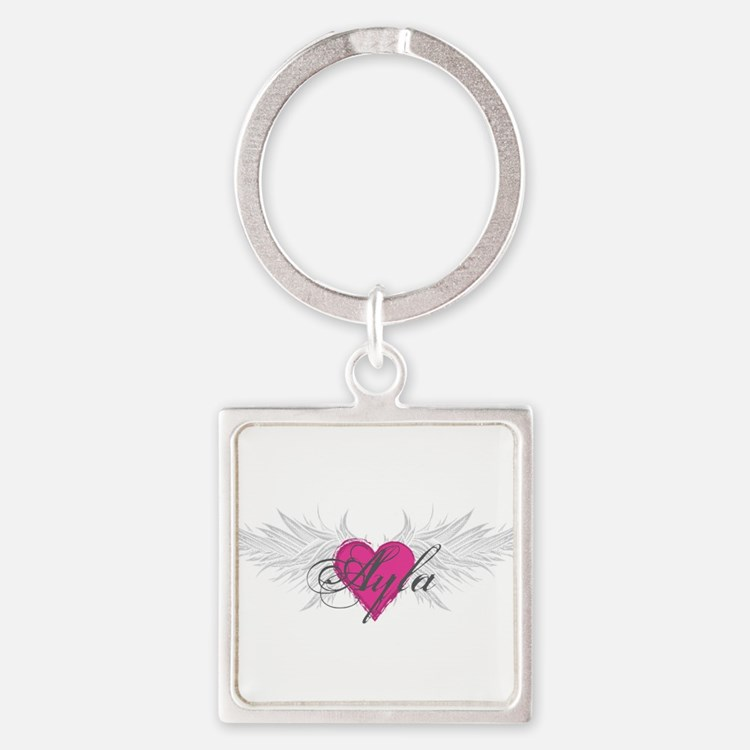 My Sweet Angel Ayla Square Keychain