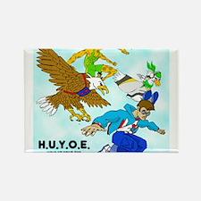 HUYOE Heroes Rectangle Magnet