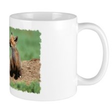 """Fox cubs kiss"" Mug"