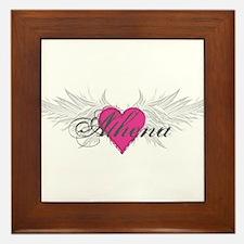 My Sweet Angel Athena Framed Tile