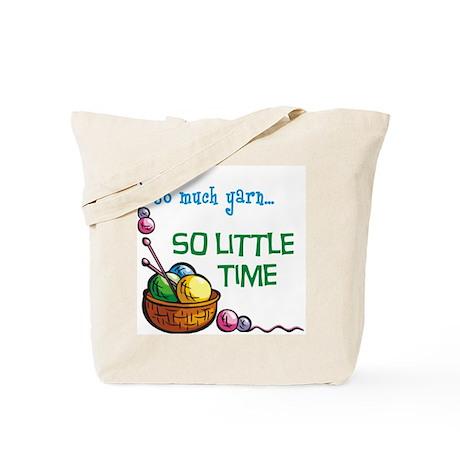 So Much Yarn... Tote Bag