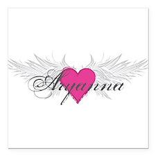"My Sweet Angel Aryanna Square Car Magnet 3"" x 3"""