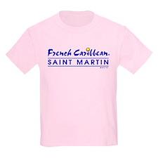 St. Martin Kid's T-Shirt / 3 Light Colors!