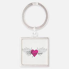 My Sweet Angel Aryana Square Keychain