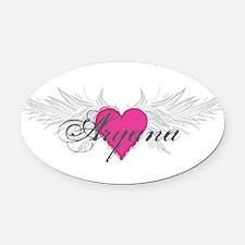 My Sweet Angel Aryana Oval Car Magnet