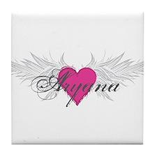 My Sweet Angel Aryana Tile Coaster