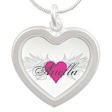 My Sweet Angel Ariella Silver Heart Necklace