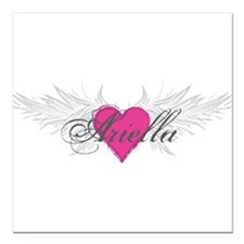 "My Sweet Angel Ariella Square Car Magnet 3"" x 3"""