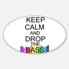 Keep Calm and Drop The Bass Decal