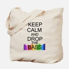 Keep Calm and Drop The Bass Tote Bag