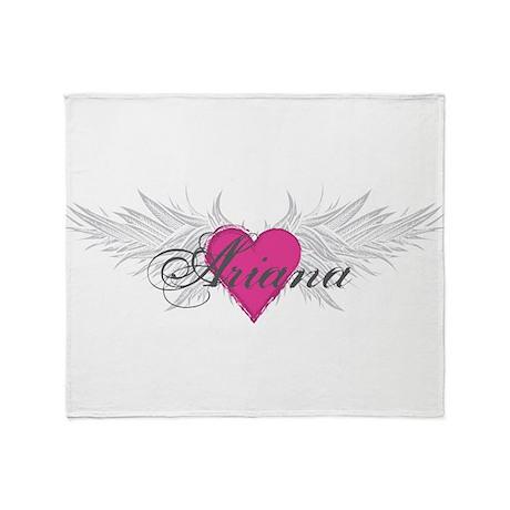 My Sweet Angel Ariana Throw Blanket