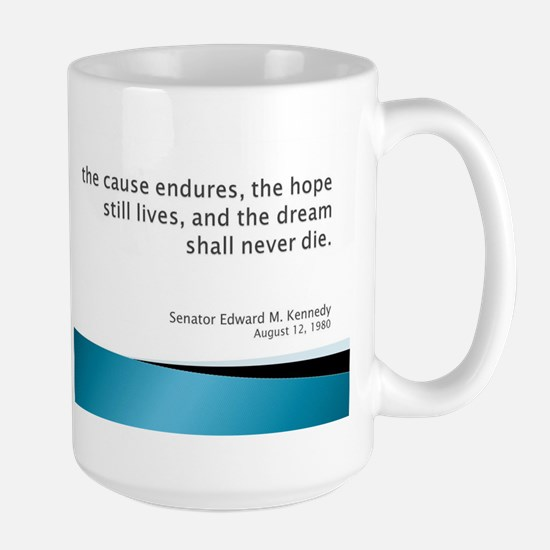 Large Mug with Kennedy quote