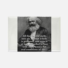 All That Is Solid - Karl Marx Magnets