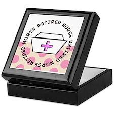 Retired Nurse G Keepsake Box