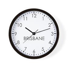 BRISBANE Modern Newsroom Wall Clock