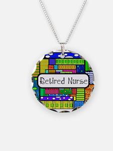 Retired Nurse E Necklace