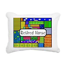 Retired Nurse E Rectangular Canvas Pillow