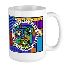 Retired Nurse D Mug