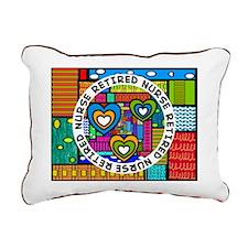 Retired Nurse C Rectangular Canvas Pillow