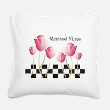 Retired Nurse A Square Canvas Pillow