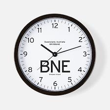 Brisbane BNE Airport Newsroom Wall Clock