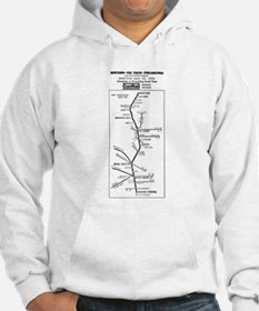 Conrail Fox Chase Timetable Hoodie
