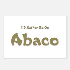 Id Rather Be...Abaco.png Postcards (Package of 8)