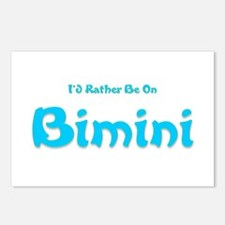 Id Rather Be...Bimini.png Postcards (Package of 8)