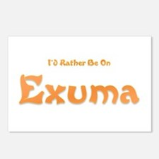 Id Rather Be...Exuma.png Postcards (Package of 8)