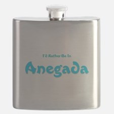 Id Rather Be...Anegada.png Flask