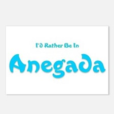 Id Rather Be...Anegada.png Postcards (Package of 8