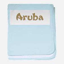 Aruba.png baby blanket