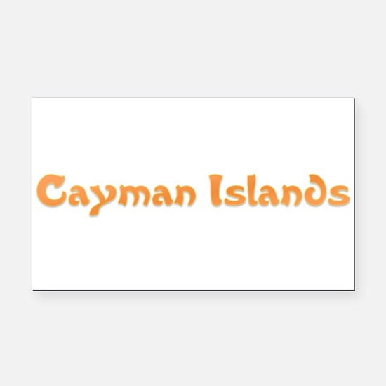 Cayman Islands.png Rectangle Car Magnet