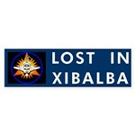 LOST IN XIBALBA Bumper Sticker