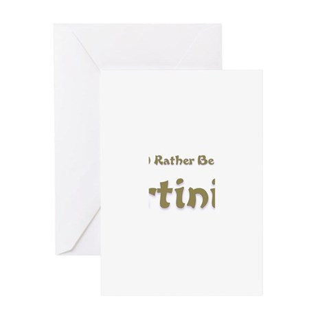 Id Rather Be...Martinique.png Greeting Card